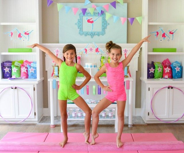 Gymnastics Birthday Party Ideas For Teens, Tweens And