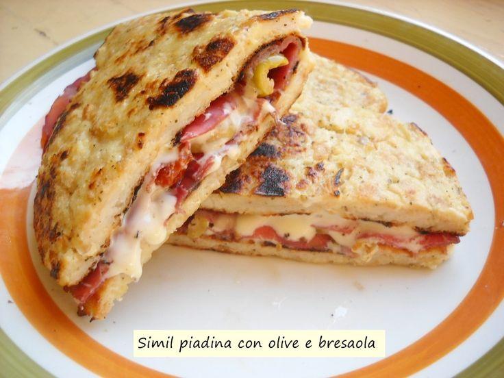 Simil+piadina+con+olive+e+bresaola