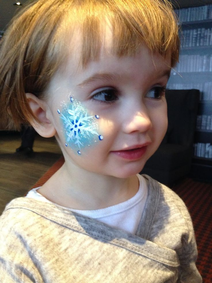 snowflake face paint - Google Search