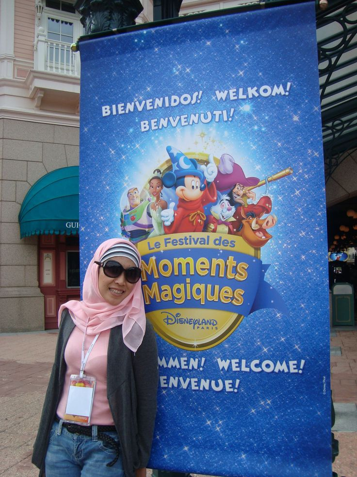 Disneyland Paris Reward from Oriflame Gold Conference 2011