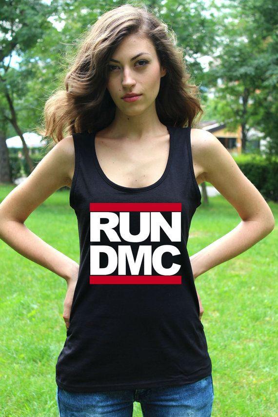 RUN DMC Shirt Run Dmc Tank Top Run Dmc Tshirt Top Run Dmc Clothing Hip Hop Tank Top Lady Women Tank Tops Rap Shirts  FOR RUN DMC CLICK HERE