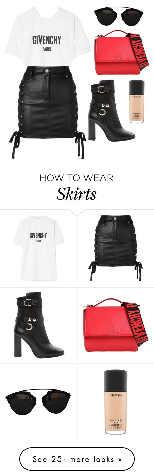 """""""Slay in Givenchy"""" by tasha-m-e on Polyvore featuring Givenchy, Isabel Marant, Versus, Christian Dior and MAC Cosmetics"""