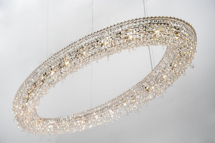 Looop crystal chandelier #Manooi #crystalchandelier #chandelier #lighting #design  #Looop #luxury #furniture
