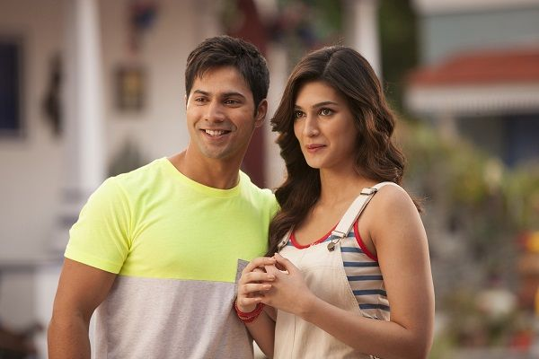 Varun Dhawan and Kriti Sanon shoot for Dilwale