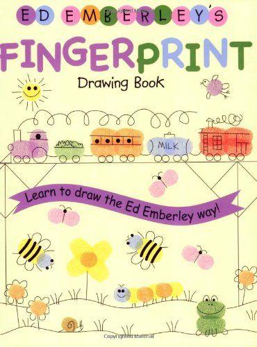 Ed Emberley's Fingerprint Drawing Book by Ed Emberley