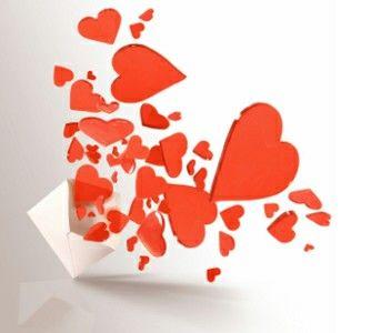 Beautiful scane heart