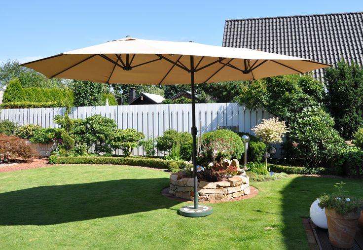 ovale parasol van Leco
