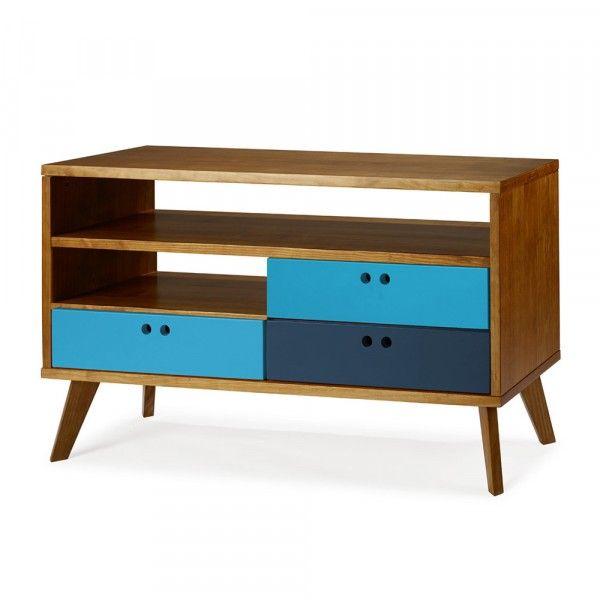 Rack Azul Turquesa e Royal Leblon | Racks | MUMA Design Móveis e decoração com design assinado