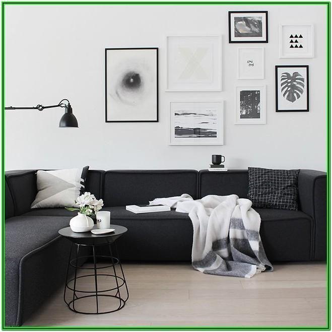 Black Sofa Living Room Decorating Ideas Black Sofa Living Room Modern White Living Room Popular Living Room