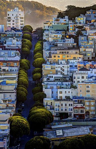 A perfectly perfect San Francisco street /// #travel #wanderlust #california