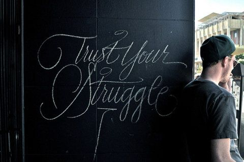 Trust Your Struggle (TYS) is an artist collective of visual artists, educators, and cultural workers dedicated to social justice and community activism through the medium of art. Our art continues the legacy of visual language, as we are contemporary storytellers influenced by graffiti art, comic books, political posters, religious spiritual icons, and our own indigenous traditions.