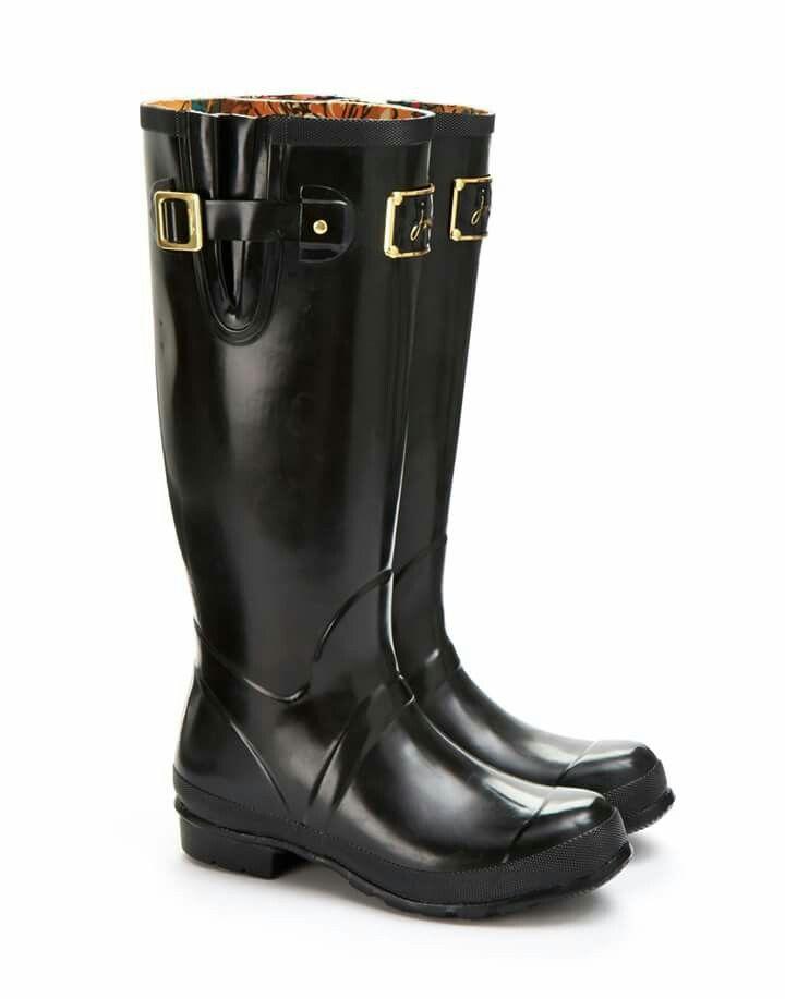 Look at this Black Posh Welly Rain Boot - Women