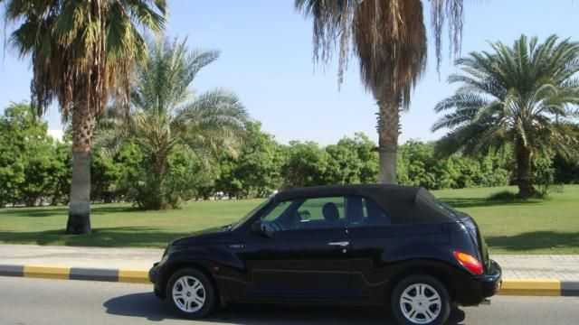 Moving sale - convertible car - chrysler pt cruise - AED 19500
