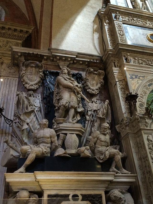 Monumento funebre de Caterino Corner, condottiero della Serenissima
