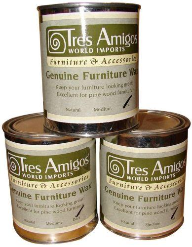 Tres Amigos Furniture Wax 2 Sizes Furniture Wax Mexican