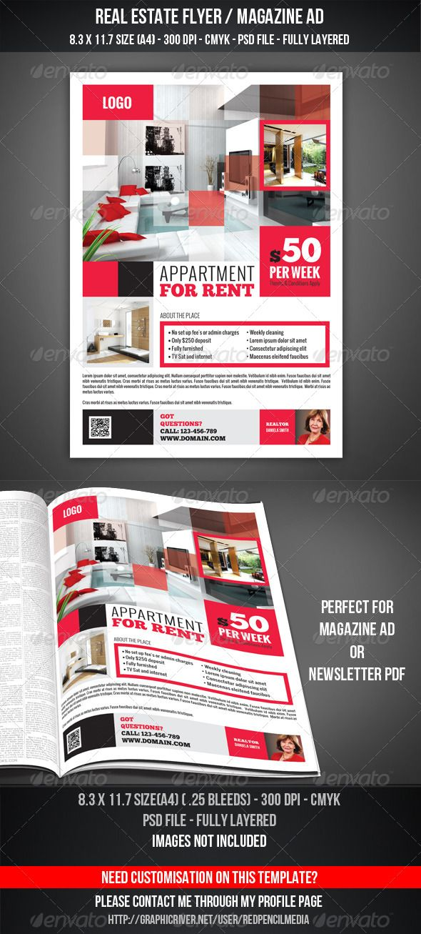 Real Estate Flyer Magazine AD 17