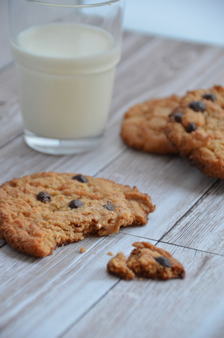 Galletas de mantequilla de maní / Peanut butter cookies