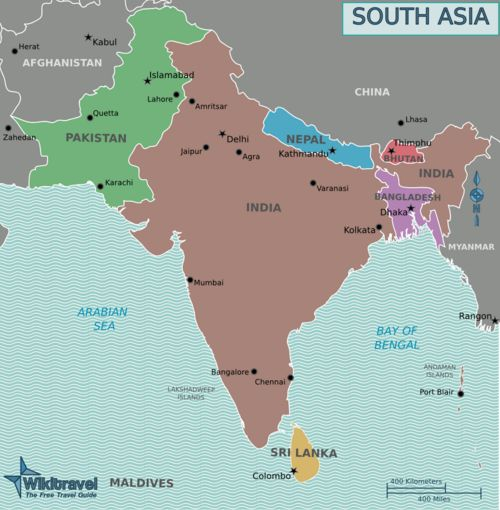 travel South Asia