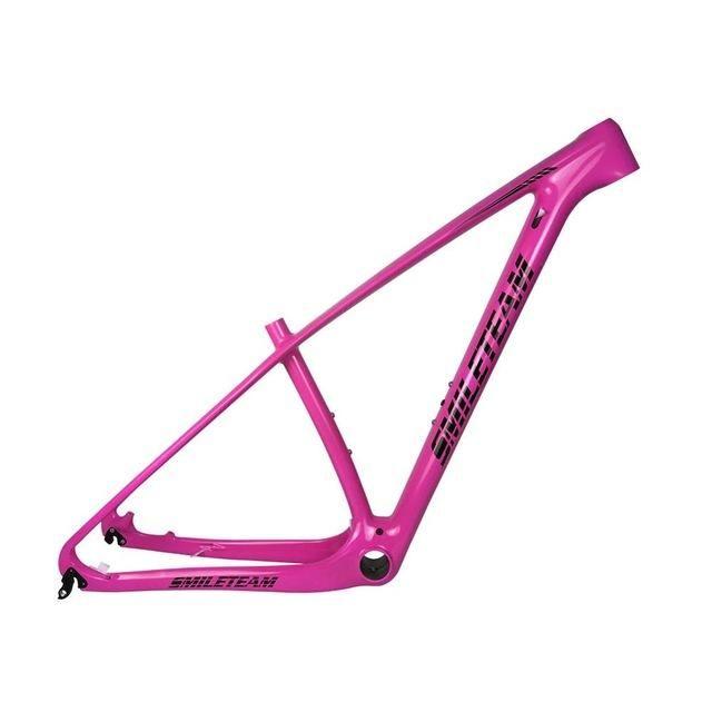 SmileTeam T1000 Full Carbon MTB Frame 27.5er 29er Carbon Mtb Frame 29 Carbon Mountain Bike Frame 142*12 or 135*9mm Bicycle Frame