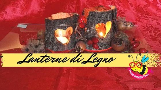 Lanterne di legno