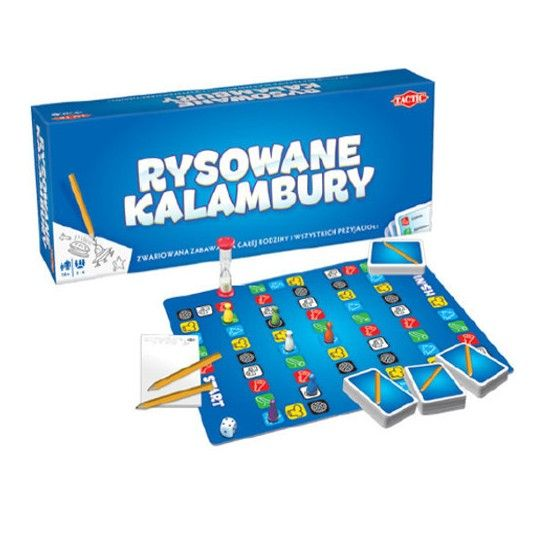 Gra Rysowane kalambury - świetna rozrywka dla dzieci i dorosłych