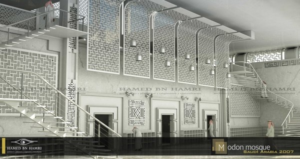 Modon Mosque by HAMED BN HAMRI , via Behance