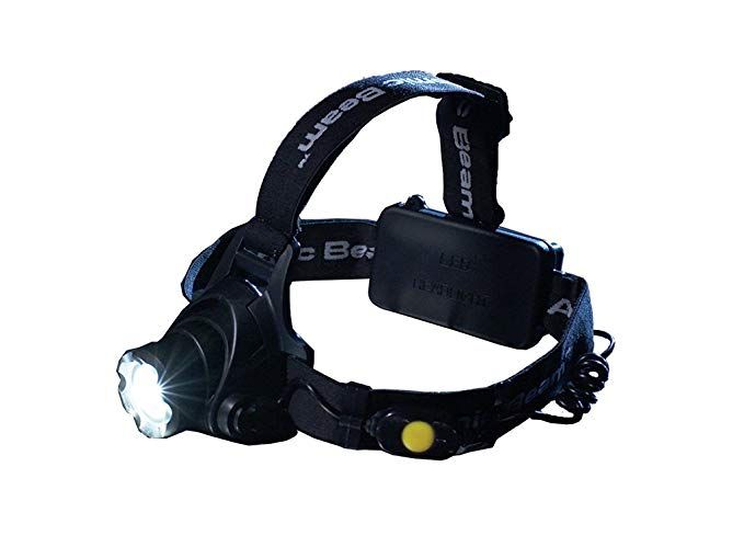 Atomic Beam Headlight Original By Bulbhead Adjustable Led Head Lamp Must Have For Camping Gear Hiking Backpa Led Headlamp Camping Lights Camping Must Haves