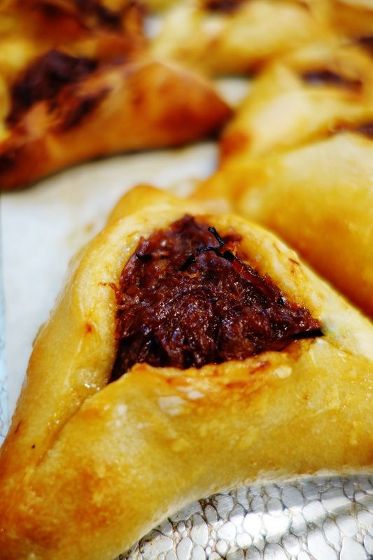 51 best purim recipes images on pinterest jewish food jewish this photo of bbq pulled brisket hamenstaschen check out 36 mouthwatering hamantaschen to make this purim forumfinder Image collections