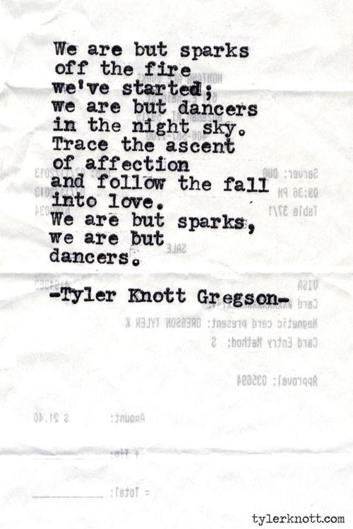 Typewriter Series #487by Tyler Knott Gregson