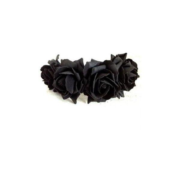 Black Flower Crown Gothic Flower Crown Black Flower: Best 25+ Black Flower Crown Ideas On Pinterest