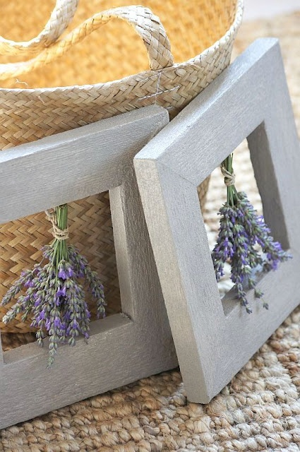 Great way to use some beautiful lavender and wildflowers