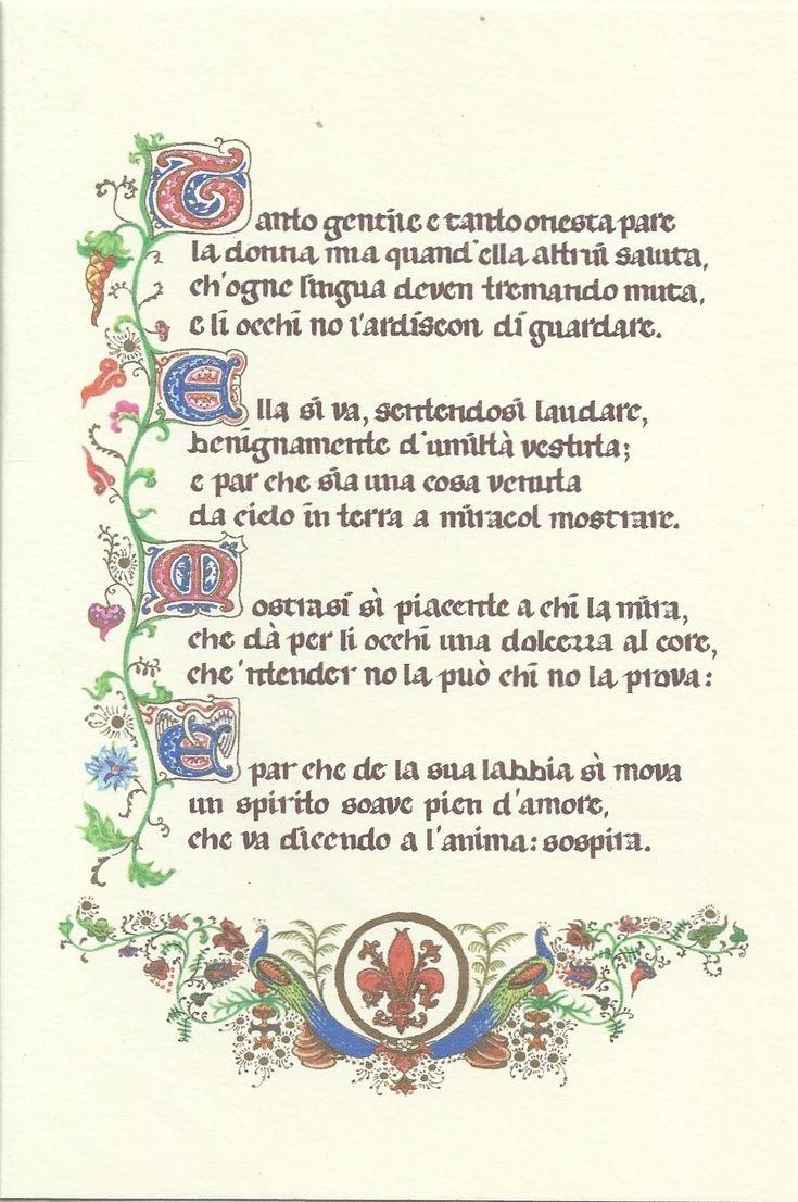 Dante Alighieri - La Vita nuova