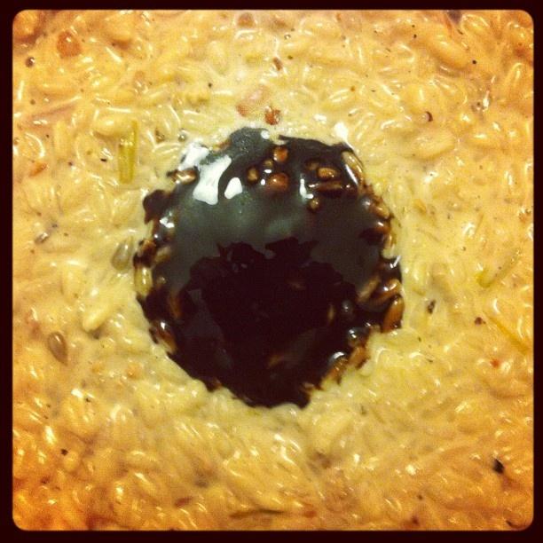 Pomegranate Fontina Rice Balls Recipe — Dishmaps