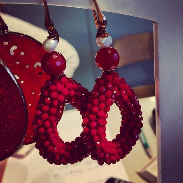 Maxima's oorbellen!! Gewoon te koop #inoost bij @thinkingofholland #pietheinkade #amsterdamoost #metmik #amsterdam #earrings #oorbellen #maxima @LOTT #Lott