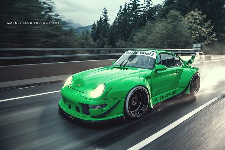 Rwb S Nakai San Builds Bespoke Wide Body Porsches In 4
