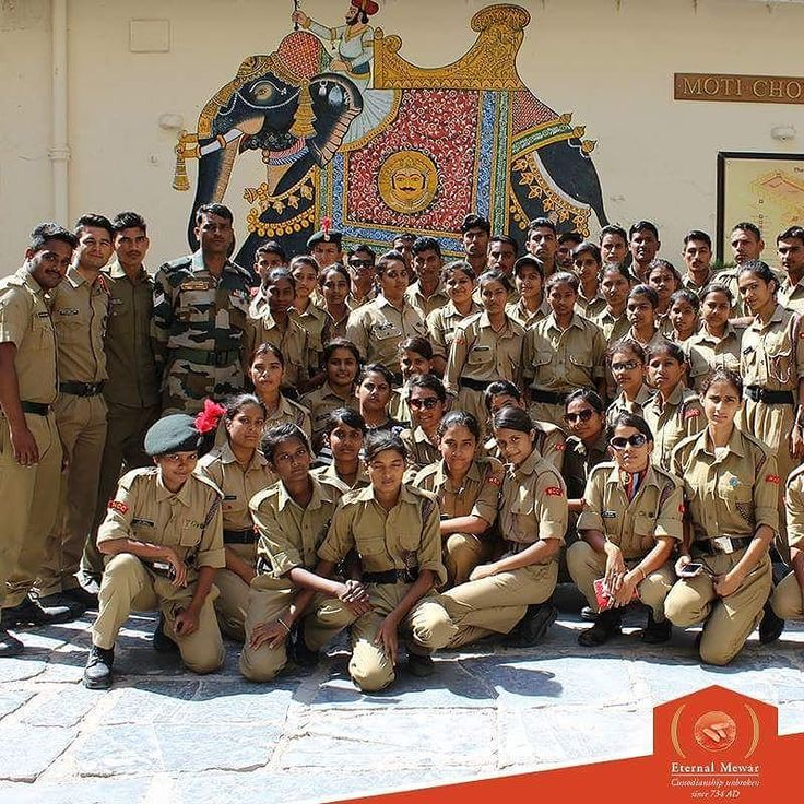 The National Cadet Corps visited The City Palace Museum Udaipur which was supported by Maharana of Mewar Charitable Foundation. 600 cadets were in Udaipur from across regions for an educational tour and to attend the National Integration Camp. #NCC #Cadets #TheCityPalaceMuseum #Educational #Tour #EternalMewar #Udaipur #Rajasthan