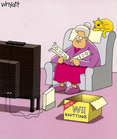 Knitting Humor Cartoon : Best knitting cartoons images on pinterest crochet