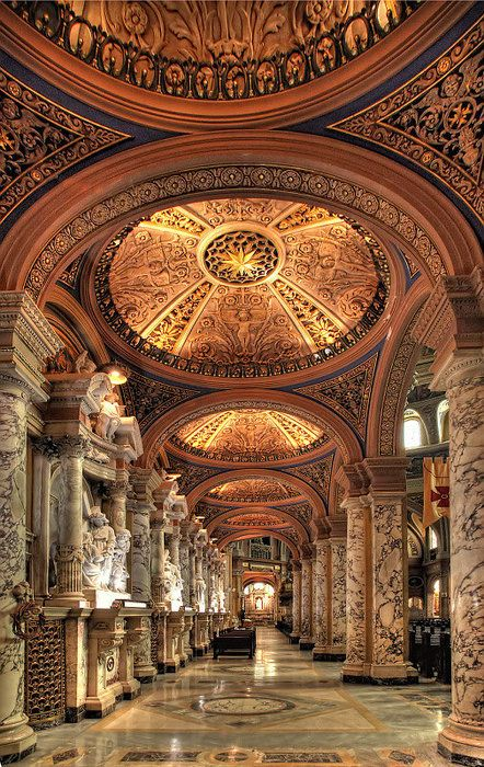 Our Lady of Victory Basilica & National Shrine, Buffalo, NY.  Buffalo's my city & this is definitely something to be proud of.  It really is beautiful in person.
