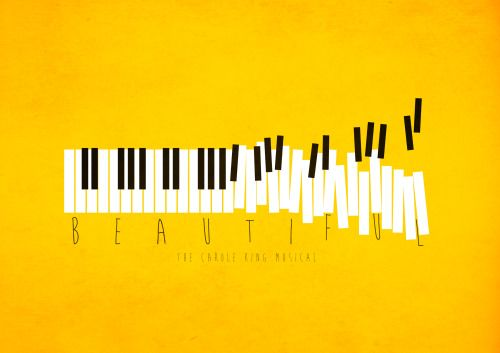Beautiful the Carole King Musical #minimal