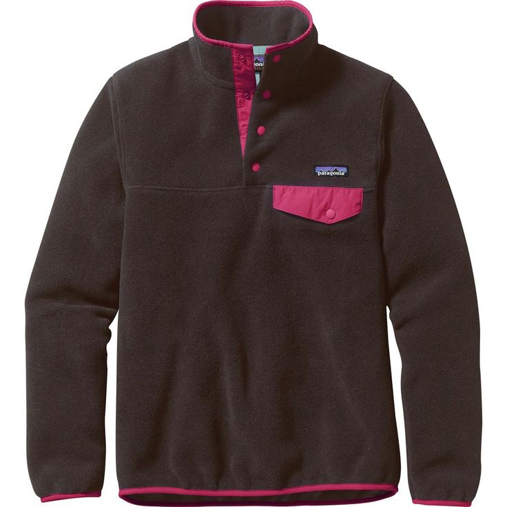 Patagonia - Synchilla Lightweight Snap-T Fleece Pullover - Women's - Ink Black