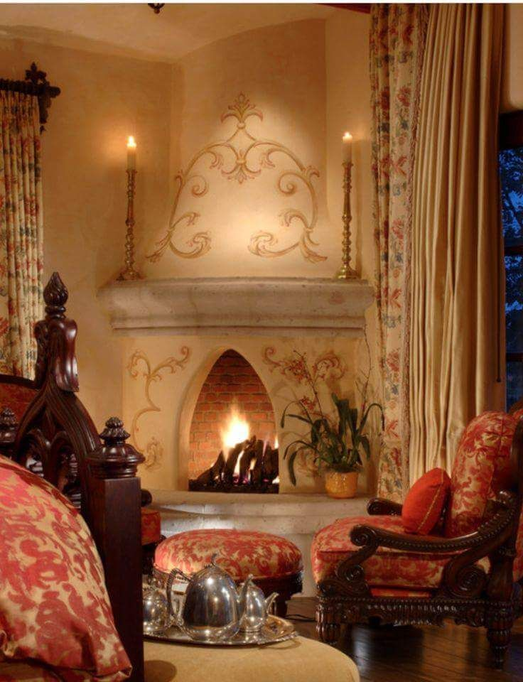 192 Best Old World Fireplaces Images On Pinterest Fire