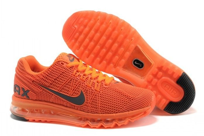 New Air Max 2013 Running Shoes For Men Orange