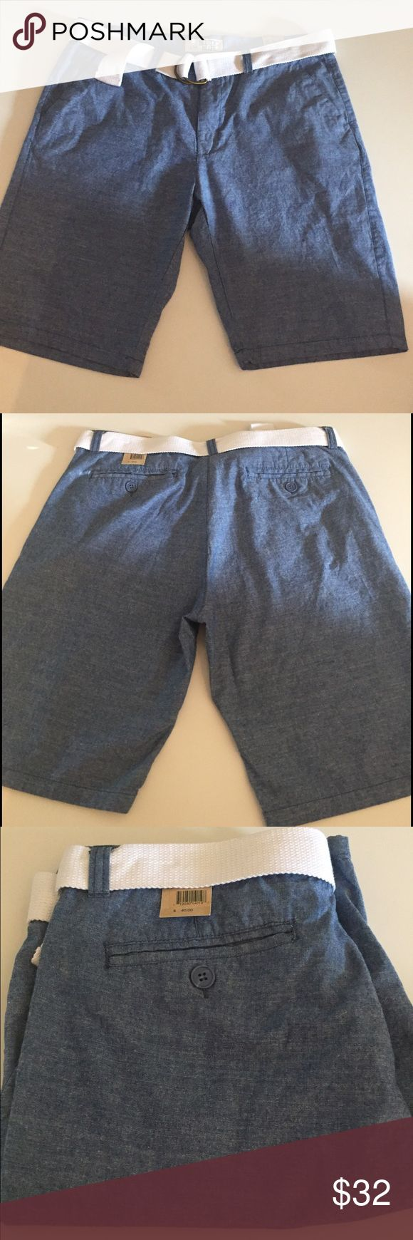 ✨1 day sale ✨NEW w/tags Rustic Blue Shorts w/Belt JUST LISTED: NEW w/tags Shorts w/Belt  Color: Blue  CONDITION: New With Tags   ❌Trades❌  ⚡️I ship lightening fast⚡️  🎉Discounts with bundles 🎉 Rustic Blue Shorts