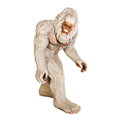 Design Toscano The Abominable Snowman Yeti Statue LifeSize >>> Continue to the product at the image link.