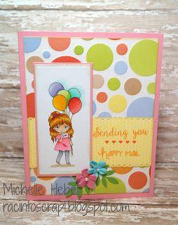 Lemon Shortbread -  Cute Balloon Girl