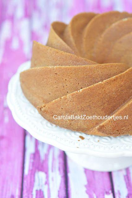 Carola Bakt Zoethoudertjes : Cake met slagroom in plaats van boter