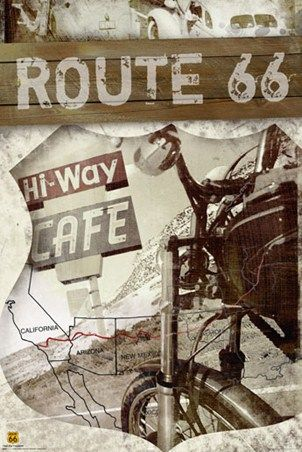 Route 66 Map - The Historic Route 66