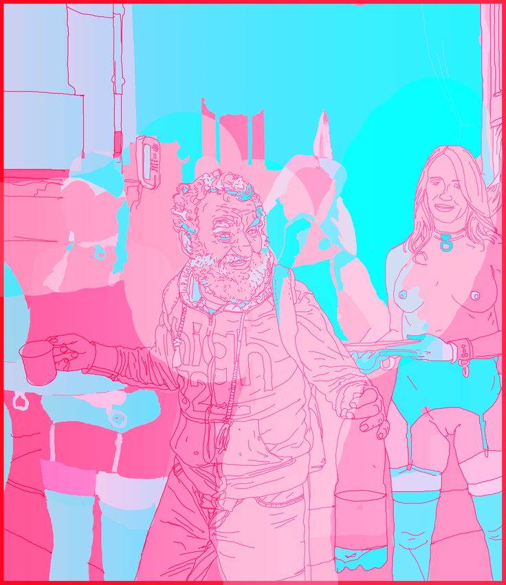digital Cornel painting fresh tactics&aesthetics Lucian Hrisav 2016