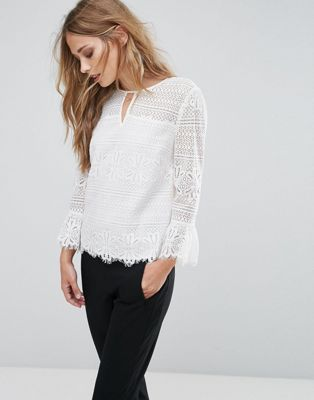 Whistles - Top in pizzo