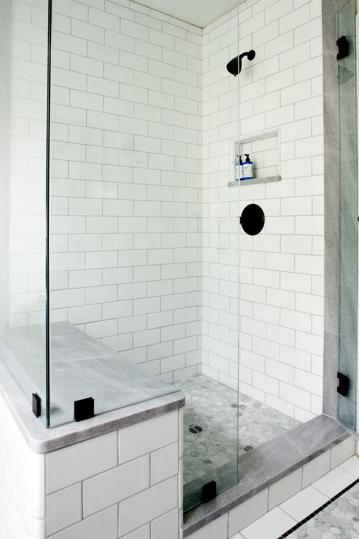 Nice How To Plan A Major Reno Project Without Going Over Budget. Bathroom Subway  TilesSubway Tile ShowersWhite ... Part 31